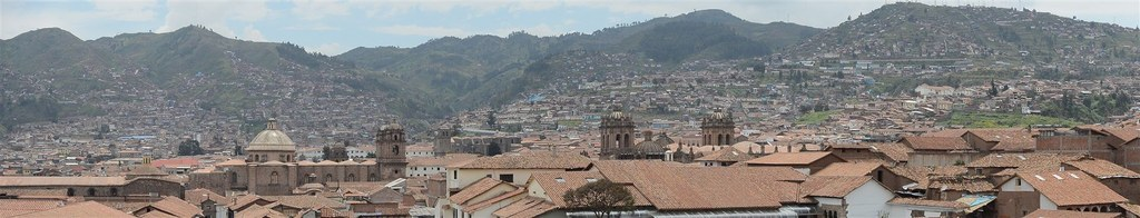 Daytime view of Cusco
